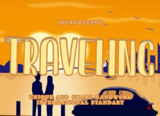 Traveling Font