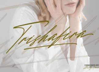 Trishafira Font