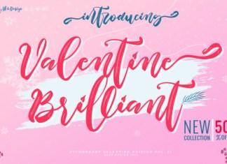 Valentine Brilliant Font