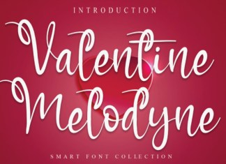 Valentine Melodyne Font