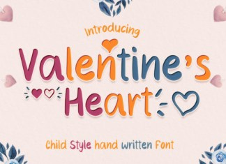 Valentine's Heart Font