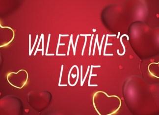 Valentines Love Font