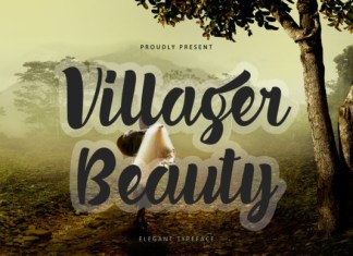 Villager Beauty Font