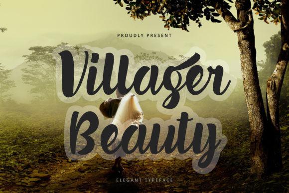 Villager Beauty Font