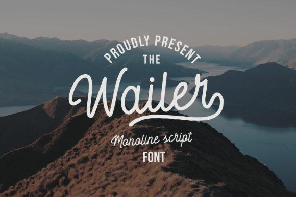 Wailer Font