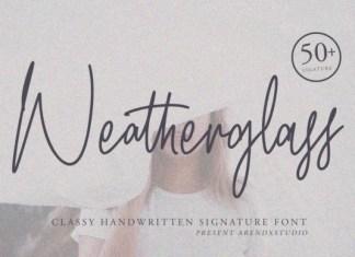 Weatherglass Font