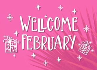 Wellcome February Font