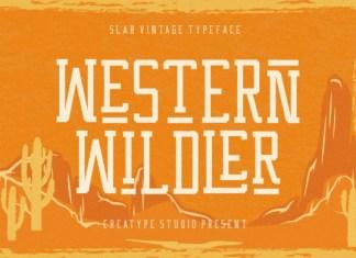 Western Wildler Font