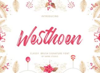 Westhoen Font