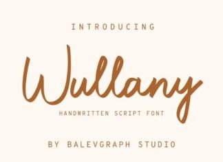 Wullany Font
