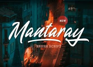 Mantaray Font