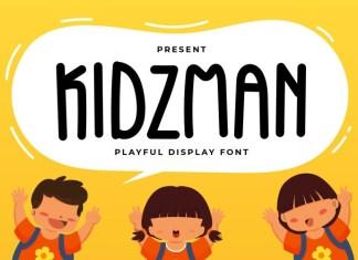 KIDZMAN Font