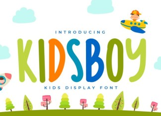 KIDSBOY Font