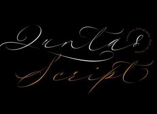 Quntas Script Font
