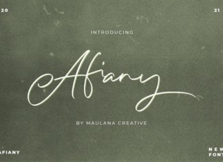 Afiany Font