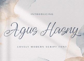 Agus Hasny Font