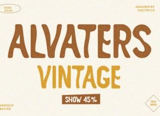 Alvaters Font
