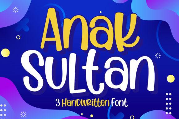 Anak Sultan Font