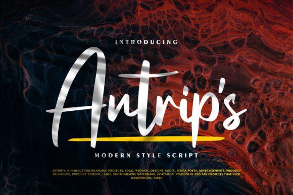 Antrip's Font