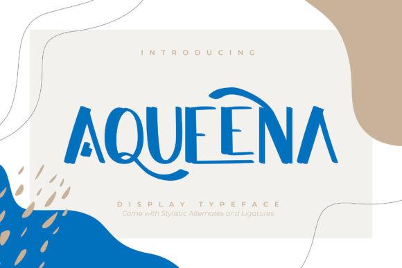 Aqueena Font