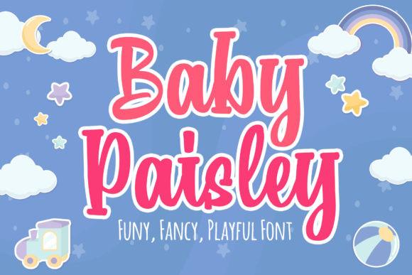 Baby Paisley Font