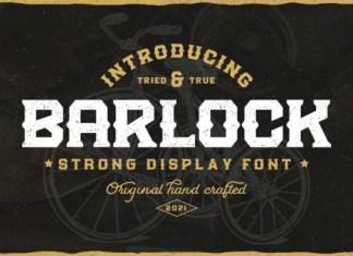 Barlock Font