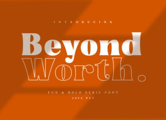 Beyond Worth Font