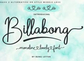 Billabong Font