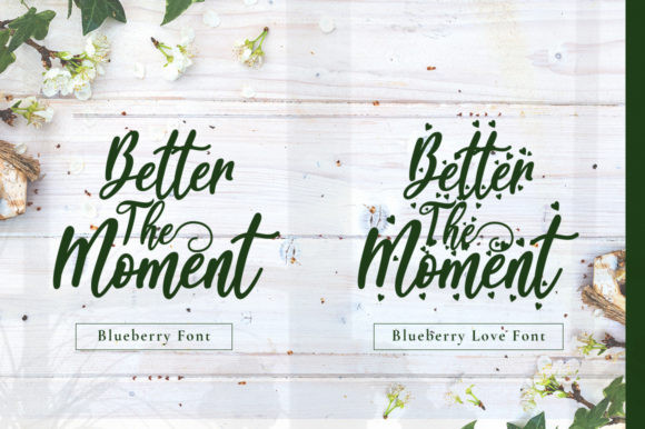 Blueberry Font