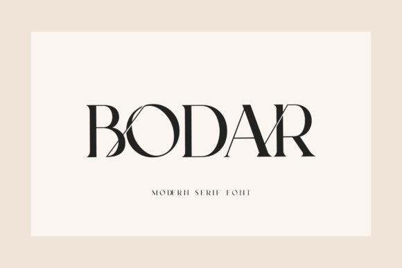 Bodar Font