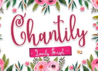 Chantily Font