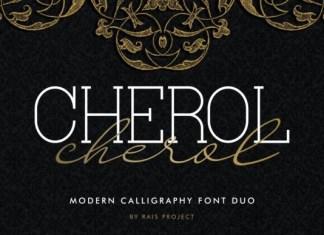 Cherol Font