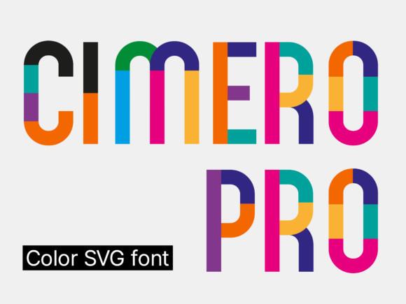 Cimero Pro Font