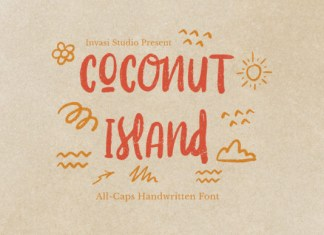 Coconut Island Font
