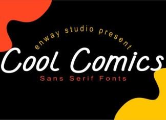 Cool Comics Font
