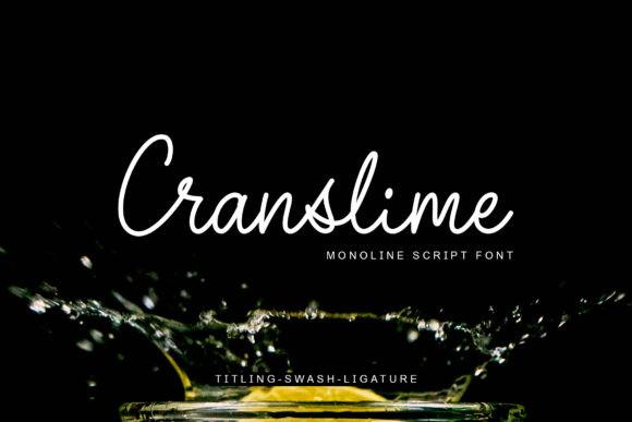 Cranslime Font