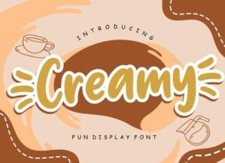 Creamy Font