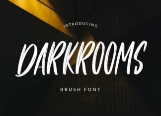 Darkrooms Font