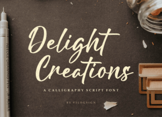 Delight Creations Font
