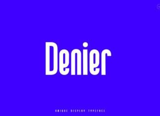Denier Font