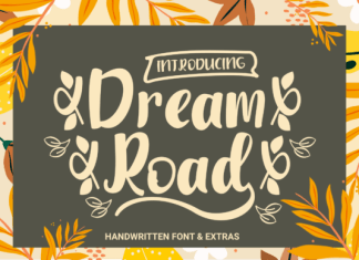 Dream Road Font