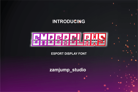 Emberclaws Font