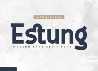 Estung Font