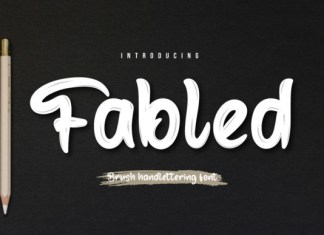 Fabled Font