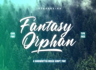 Fantasy Orphan Font