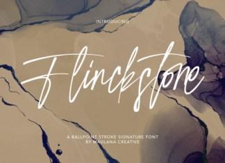 Flinckstone Font