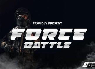 Force Battle Font