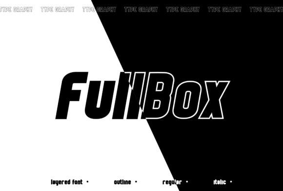 FullBox Font