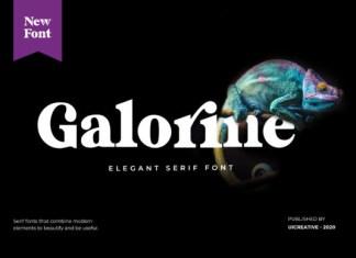 Galorine Font