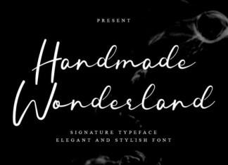 Handmade Wonderland Font